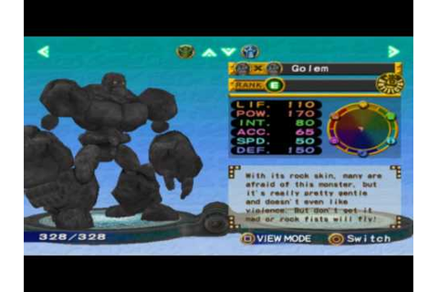 Monster Rancher 4: All The Monsters. - YouTube