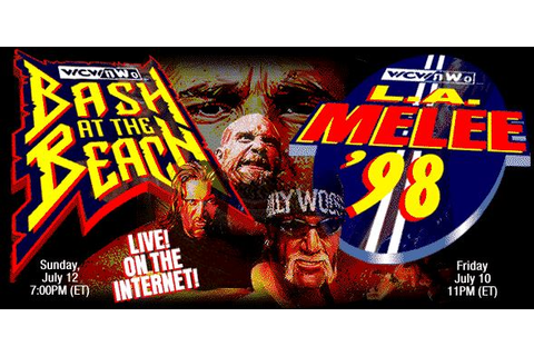 WCW Internet-only Special Events and PPVs (Lost 1997-1998 ...
