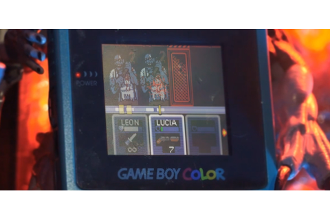 Resident Evil Gaiden (Biohazard) - Game Boy Colour ...