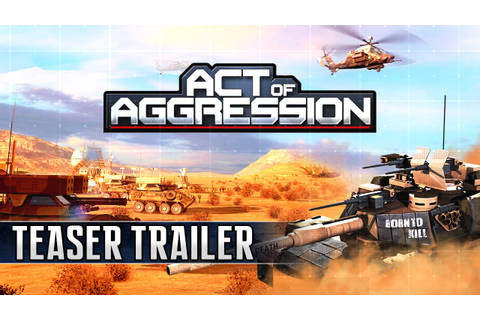 Act of Aggression: Teaser Trailer - YouTube