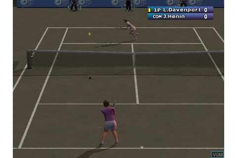 WTA Tour Tennis - Pro Evolution for Nintendo GameCube ...