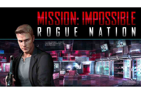 Mission Impossible RogueNation Latest Game APK For Android