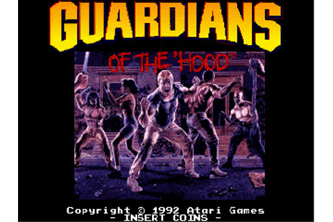 Guardians Of The 'Hood - Videogame by Atari Games