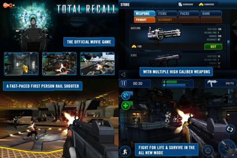 Total Recall APK + SD Data | Android Games Download