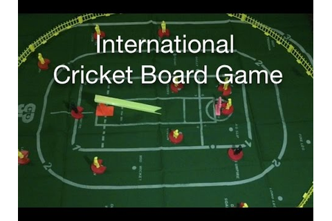 International Cricket Board Game - YouTube