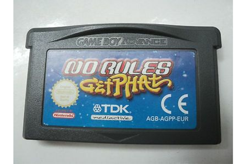 NO RULES: GET Phat GBA New Game Boy Advance - $13.89 ...