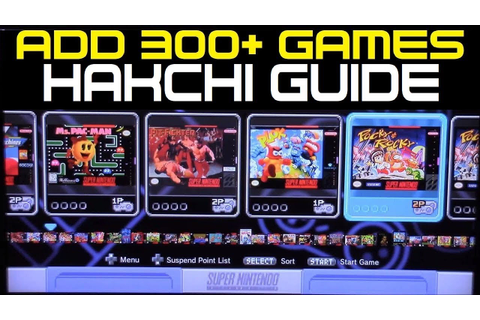 Add 300+ Games NOW! To your Super Nintendo Classic Edition ...
