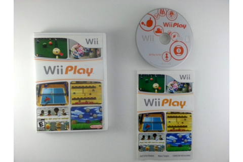 Wii Play (Game only) game for Wii (Complete) | The Game Guy