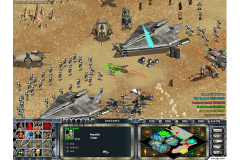 Star Wars Galactic Battlegrounds: The Clone Campaigns ...