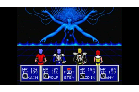 Phantasy Star II Final Boss Fight and Ending - YouTube