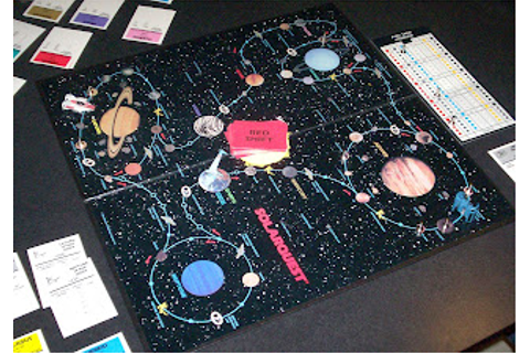 The Toy Museum: Solar Quest The board game
