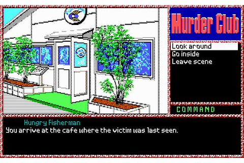 J.B. Harold in: Murder Club Download (1991 Adventure Game)