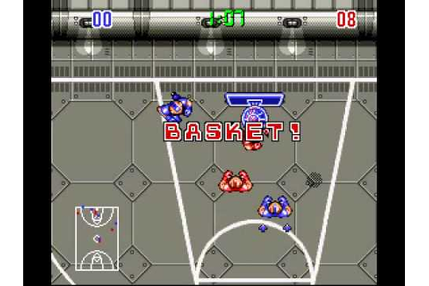 Bill Laimbeer's Combat Basketball (SNES) - YouTube
