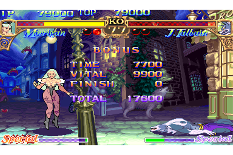 Darkstalkers: The Night Warriors (USA 940818) ROM