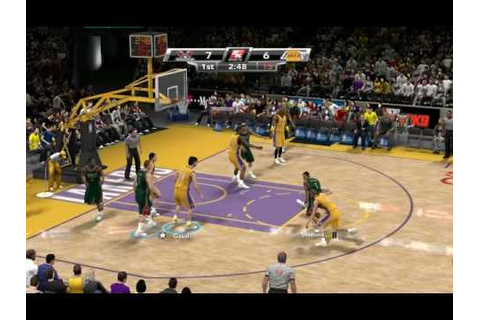 NBA 2k9 gameplay PC version - YouTube