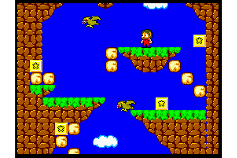 Alex Kidd in Miracle World (USA, Europe) ROM