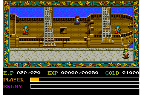 Ys I & II: Ancient Ys Vanished (1989) by Hudson Soft PCE ...