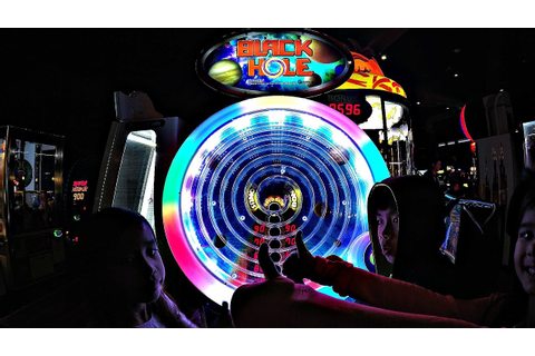 Black Hole Arcade Game Ticket Challenge With The Kids ...