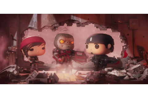 'Gears of War' heads to mobile with a Funko Pop art style ...