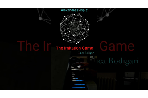 The Imitation Game . Alexandre Desplat ·(Vertical Piano ...