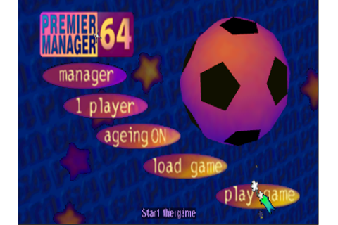 Premier Manager 64 (Europe) ROM