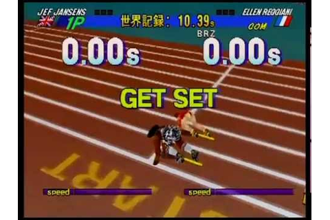 Decathlete / Athlete Kings [Sega Saturn] (Retro Gameplay ...