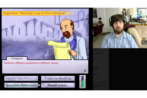 Games as Lit. Streaming - Socrates Jones: Pro Philosopher ...