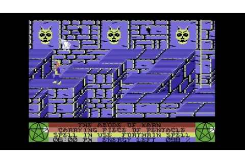 C64-Longplay - Staff Of Karnath (720p) - YouTube