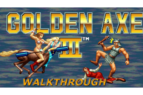 Golden Axe 3 | SEGA Arcade | Playthrough / Longplay - YouTube