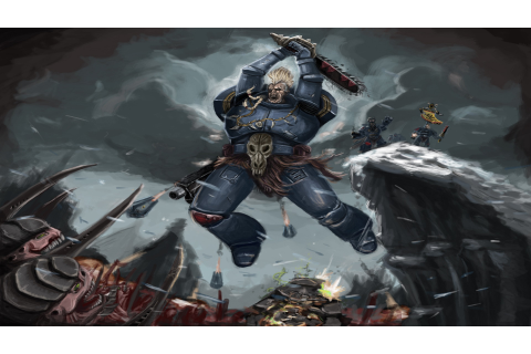 Warhammer 40000 Space Wolf Wallpapers - Read games review ...