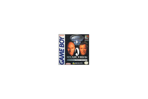 Jeux Vidéo Star Trek Generations Beyond the Nexus Game Boy ...