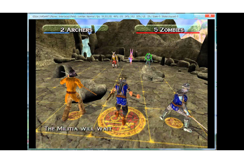 Heroes of M&M Quest for the DragonBone Staff pcsx2 - YouTube
