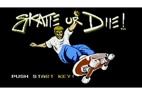 Skate or Die - NES Gameplay - YouTube