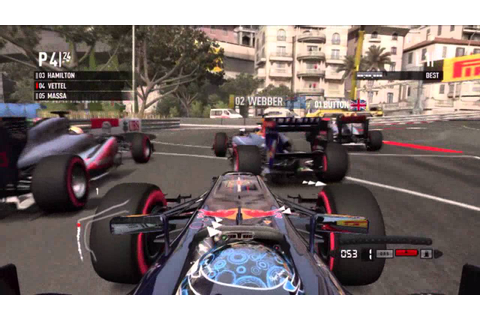 F1 2011 (PS3 Gameplay) - YouTube