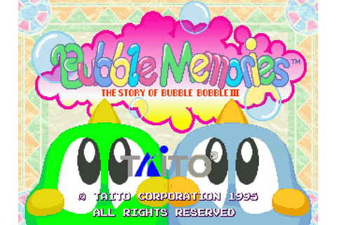 Bubble Memories - Story Mode by KRJ - World Record (33.980 ...