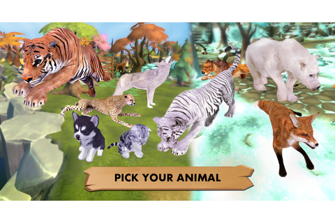 My Wild Pet: Online Animal Sim - Android Apps on Google Play