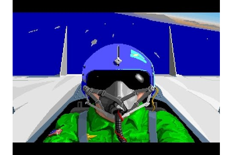 F-15 Strike Eagle II - PC Game - YouTube