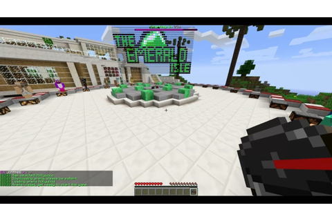 Minecraft PC: The Emerald Isle: Hollywood Hunger Games ...
