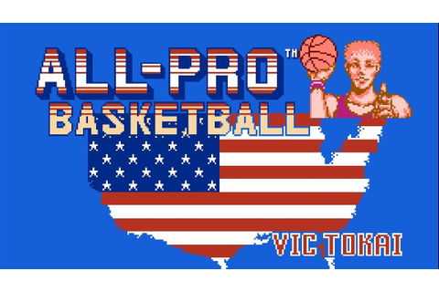 All Pro Basketball - NES Gameplay - YouTube