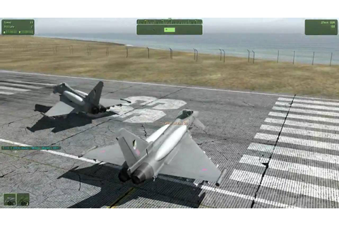 RKSL Eurofighter Typhoon Pre Release BETA demo - YouTube