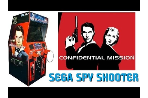 SEGA's Confidential Mission! Rare Arcade Spy Shooter Game ...