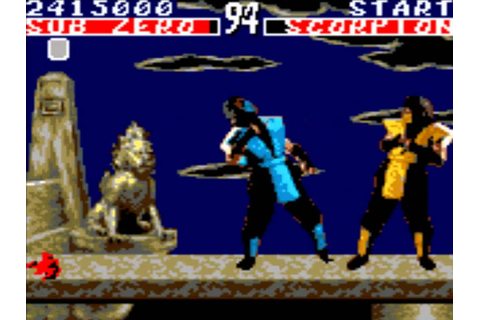 Mortal Kombat 1 Game Gear Part 1 - YouTube