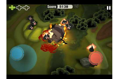 Minigore Gameplay July 14th - iPhone Survival Shooter ...