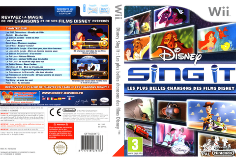 SDFP4Q - Disney Sing It: Family Hits