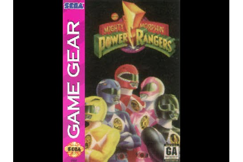 Mighty Morphin Power Ranger GAME GEAR 720P HD Playthrough ...