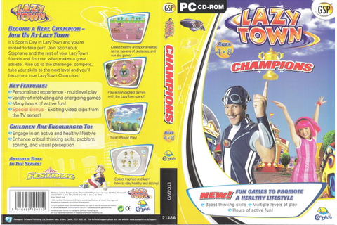 Lazy Town Champions PC Game (1 cd) - Cheap OEM Software