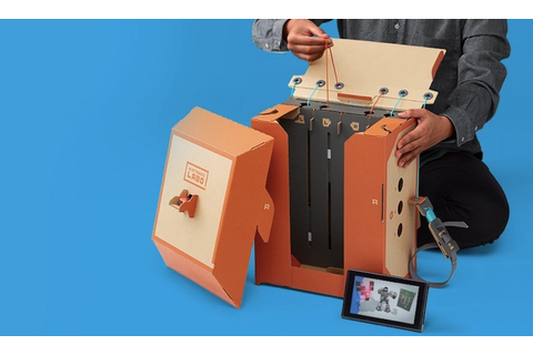 Nintendo Labo for Nintendo Switch: Toy-Con Cardboard ...
