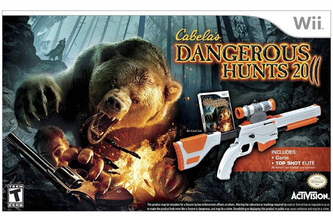 Cabela's Dangerous Hunts 2011 Bundle Nintendo Wii Game