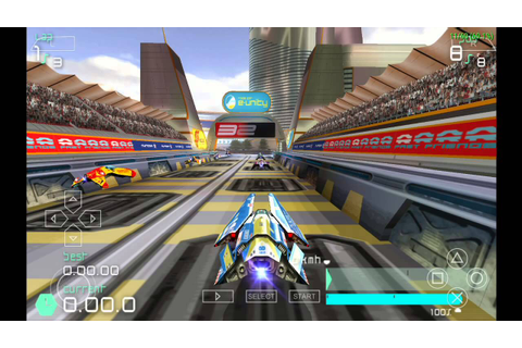 Download Wipeout Pulse PSP ISO CSO - SenpaiGame