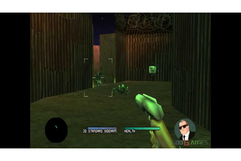 Men in Black The Series: Crashdown - Gameplay PSX / PS1 ...